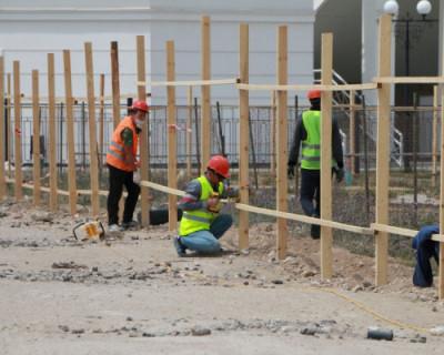 В Севастополе приступили к реконструкции набережной парка Победы