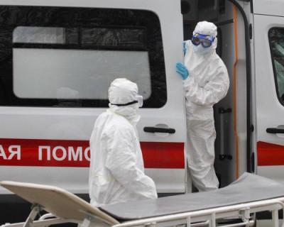 За сутки в России зарегистрировали 8894 новых случаев заражения коронавирусом
