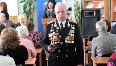 Ветеранам Ленинского района вручили медали «70 лет Победы»