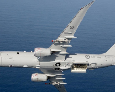 Российские истребители перехватили американский самолет-разведчик над Средиземным морем (ВИДЕО)
