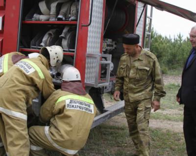 Спасатели Севастополя и добровольцы потушили 22 пожара