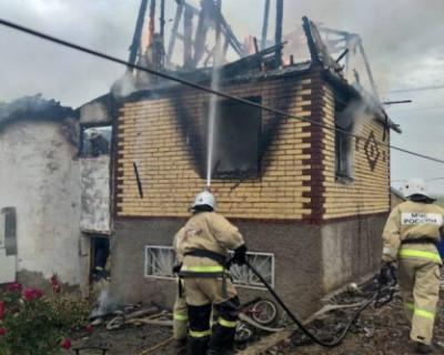 Пятилетний ребенок погиб на пожаре в Крыму