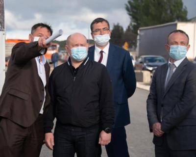 Работы по реконструкции Камышового шоссе в Севастополе завершатся в сентябре 2020 года