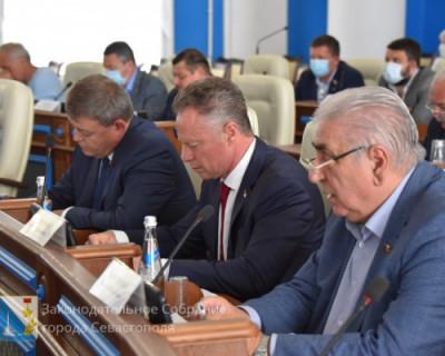 Депутаты Заксобрания Севастополя читают «ИНФОРМЕР» и принимают решения!
