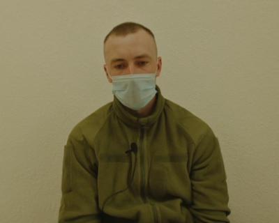 ФСБ опубликовала видео задержания и допроса украинского солдата в Крыму