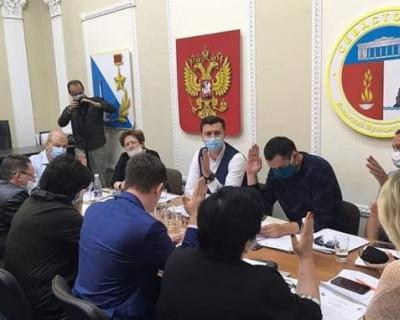 Депутаты Ленинского муниципального округа Севастополя разошлись по домам