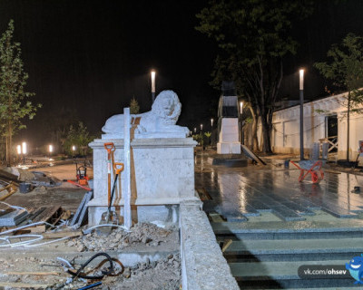 При реконструкции угробили Матросский бульвар в Севастополе