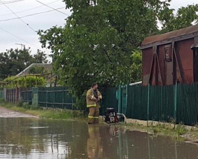 Северные районы Крыма затопило