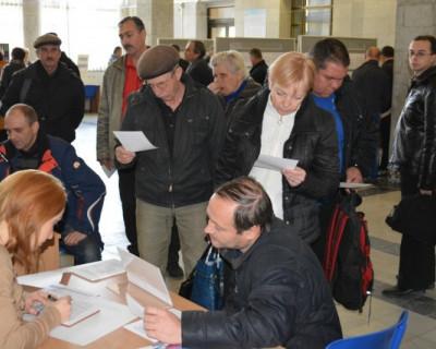 В Центре занятости населения Севастополя 26 февраля подбирали кадры предприятия строительной отрасли