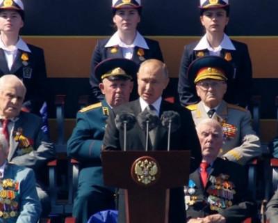 Владимир Путин: «Россия должна отстаивать честную, ничем не замутненную правду о войне»
