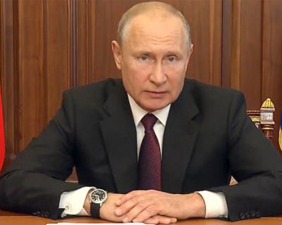 Путин заявил об отступлении пандемии коронавируса в России