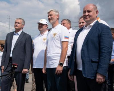 Врио губернатора Севастополя принял участие в «большом событии в жизни Крыма и России»