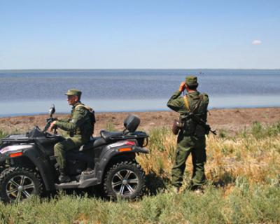 Кордон между Украиной и Крымом