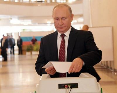 Почему Путин голосовал без маски