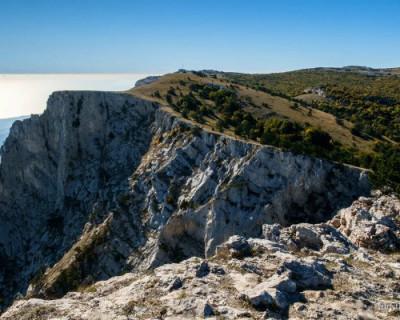 Туристы заблудились в горах Крыма