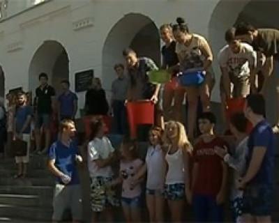 Студенты Севастопольского филиала МГУ приняли участие в акции «Ice Bucket Challenge»