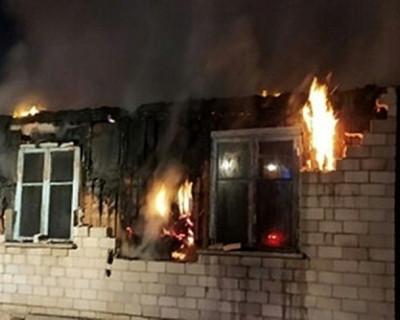 Во время пожара в Крыму погиб мужчина
