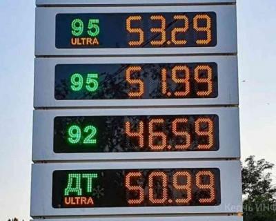 Почему цены на бензин в Крыму стремятся вверх