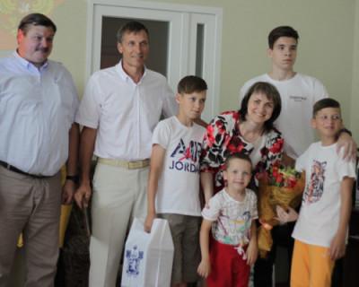 В Севастополе выбрали «Семью года»