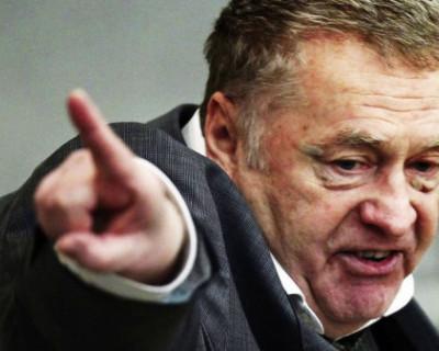 Жириновский заявил о том, что депутаты Госдумы от ЛДПР могут покинуть парламент
