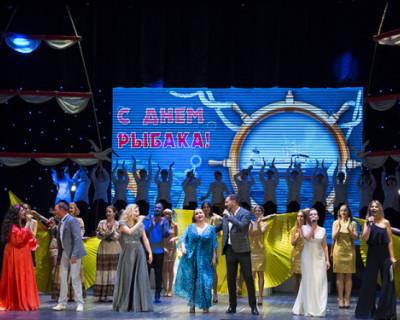 Торжественное собрание в Севастополе в честь рыбаков!