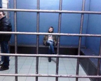 МВД России по Москве обнародовало запись пребывания в СИЗО депутата Украины Гончаренко (видео)