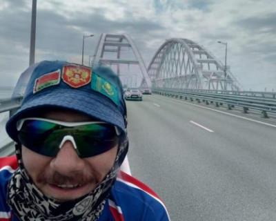 Учитель физкультуры из Сибири проехал 5 тысяч километров на велосипеде до Крыма