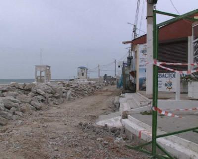 В Севастополе выявили нарушения при реконструкции набережной парка Победы