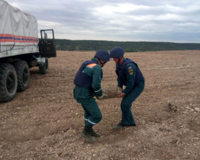 Более десятка взрывоопасных предметов обезвредили в Севастополе