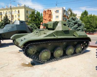 Легендарный Т-60 из музея «Сталинградская битва» едет на байк-шоу в Севастополь (ВИДЕО)