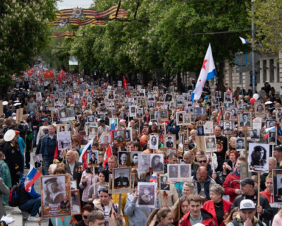 Путин принял решение о переносе «Бессмертного полка» на 2021 год