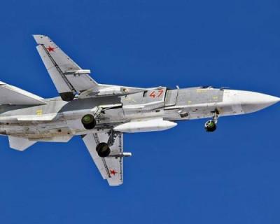 В Крым перебросили фронтовые бомбардировщики Су-24М