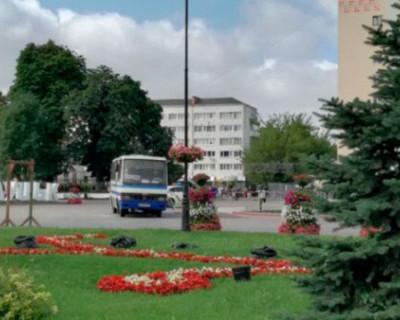 На Украине неизвестный захватил автобус с заложниками