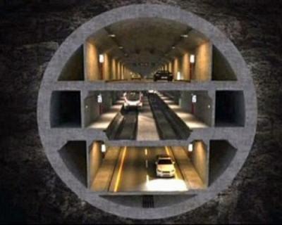 Турция построит  в Чёрном море трехэтажный туннель