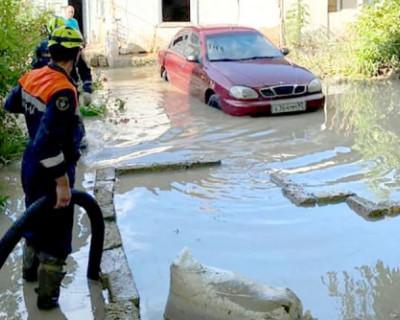 Крым залило дождями