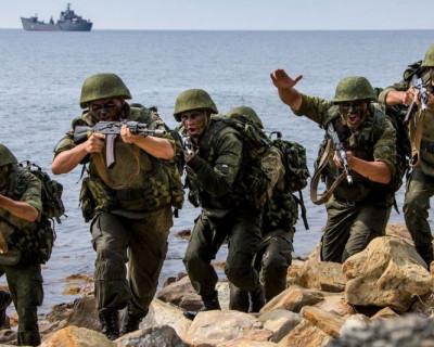Состязания разведывательных подразделений Черноморского флота начались во вторник в Северной Осетии