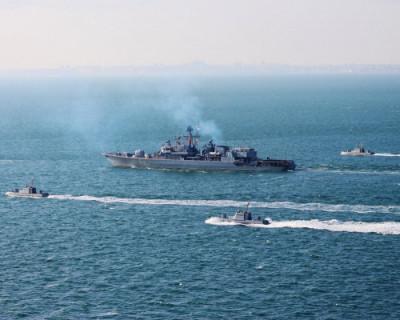 Черноморский флот следит за ходом учений НАТО Sea Breeze-2020
