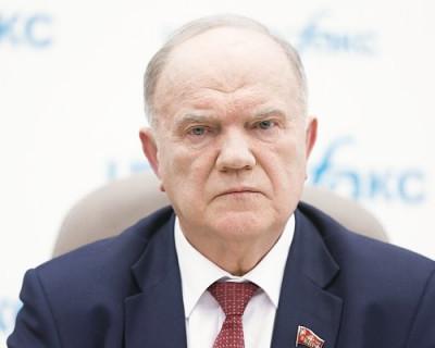 Геннадий Зюганов встревожен. Кияшко напрягся?