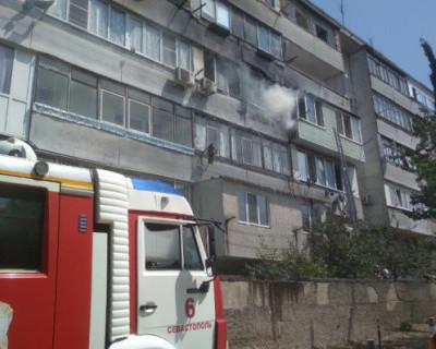 Мужчина пострадал во время пожара в Севастополе
