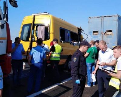 Водитель, по вине которого произошло смертельное ДТП в Крыму, вышел на маршрут без документов