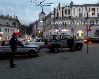 Ограбление кассы на Большой Морской в Севастополе. (фото, видео)