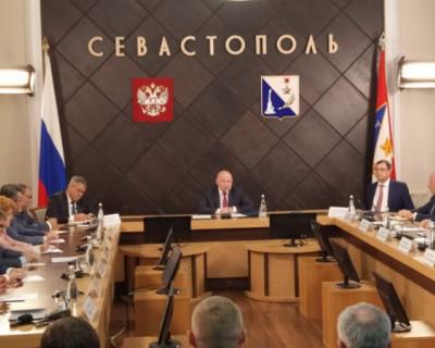Врио губернатора Севастополя поставил на контроль вопрос не введенных в эксплуатацию домов