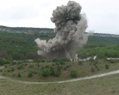 С начала 2020 года спасатели Севастополя уничтожили более 700 взрывоопасных предметов