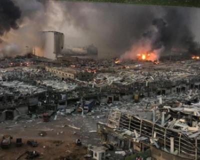 Кадры из Бейрута после чудовищного взрыва (ФОТО)