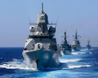 Боевые учения? Четыре корабля НАТО вошли в Чёрное море!