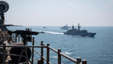 Военные в Крыму устроили стрельбы, натовские корабли не могли подойти к крымскому побережью