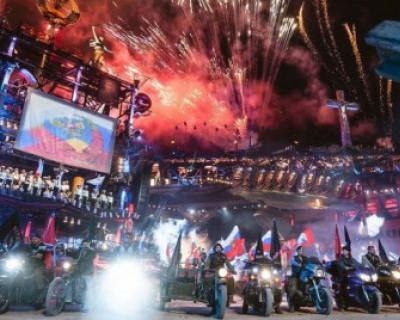 Участники байк-шоу «Крах Вавилона» прибыли на Гасфорту (ВИДЕО)