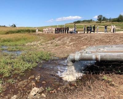 В Симферополе состоится торжественное открытие водовода, который обеспечит водой столицу Крыма