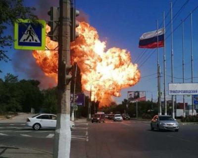 Взрыв на газозаправочной станции в Волгограде (ВИДЕО)