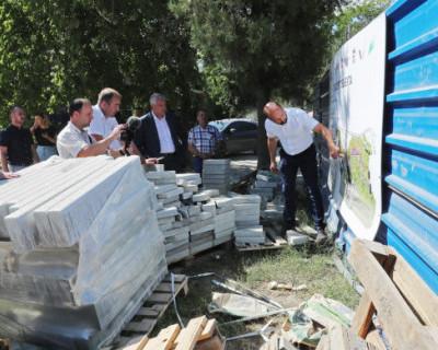 Глава Крыма лично проверил стройки Симферополя
